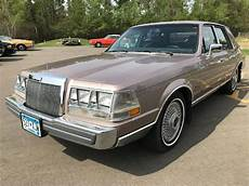 blue book value used cars 1986 lincoln continental windshield wipe control 1986 lincoln continental for sale classiccars com cc 1126010