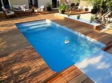 piscine coque grise piscine coque grise et terrasse en bois essence cumaru salon de jardin en 2019 piscine coque