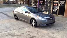2013 hyundai sonata on 18 quot black machined spec1 sp4s with