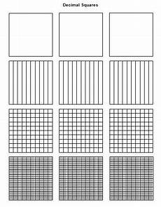 decimal square worksheets 7298 decimals squares that can be used to teach decimals and you can play with these click on