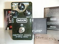 carbon copy analog delay mxr m169 carbon copy analog delay image 195017 audiofanzine