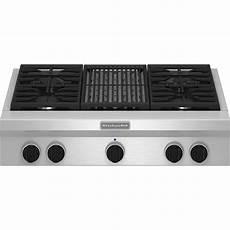 Kitchenaid Cooktop With Grill kitchenaid kgcu462vss pro style 174 36 quot gas cooktop plus grill