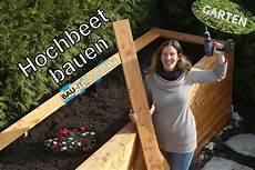 Hochbeet Holz Selber Bauen - hochbeet selber bauen garten anlegen diy holz hochbeet