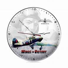 wings for victory airplane wall clock