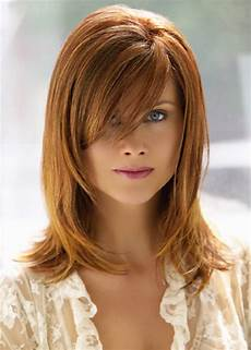 Length Hairstyles With Bangs And Layers