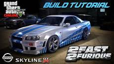 Let S Build Paul Walker S Nissan Skyline Gta 5