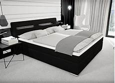 Boxspringbett Mit Led - designer boxspring bett mit bettkasten led