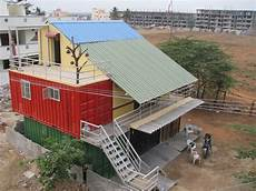 India S 1st Container Home At Bangalore Container