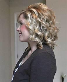 short medium curly hairstyles