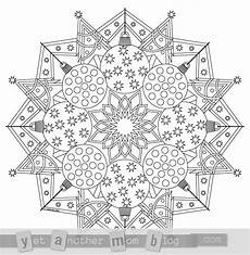 mandala coloring page free pdf