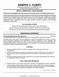 styles retail area manager resume sles sales manager resume sle inspirational retail