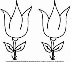 ausmalbild tulpe 2 medienwerkstatt wissen 169 2006 2017