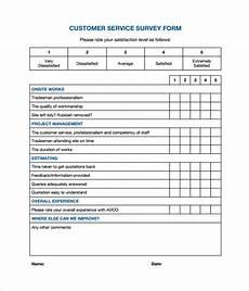 sle customer survey 10 documents in pdf word
