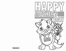 mothers day card printable template 20614 4 free printable s day ecards to color thanksgiving