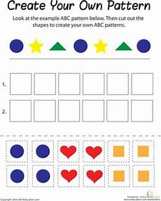 repeating shape patterns worksheets year 1 307 17 best images about math on shape equation and number patterns