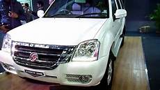 motors one white suv 4x2 6d at auto expo 2012