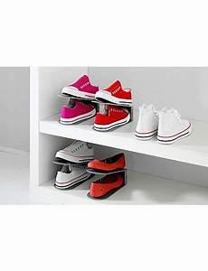 range chaussure gain de place empileur 224 chaussures rangement chaussures chaussure et