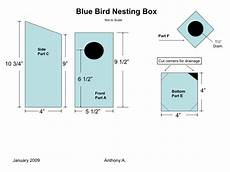 bluebird house plan how to build a bluebird house nest box plans feltmagnet