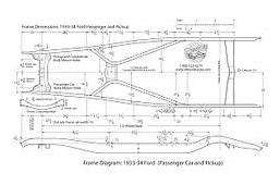 FJ45LV Frame Blueprint From Factory Service Manual
