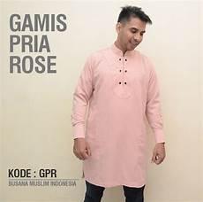 jual baju gamis premium pria pakistan rose jubah muslim casual baju koko ekslusif di lapak