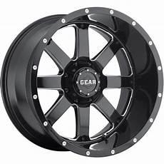 buy 22x12 black gear alloy big block 726b wheels 8x180 44 lifted gmc yukon 2500 motorcycle in