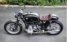Cafe Racer Bmw Flat Leather Seat Bike Bmw Bmw Cafe