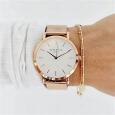 montre femme rosefield twr t50 the tribeca 33 mm blanche