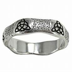sterling silver celtic knot triquetra ring irish