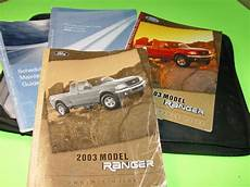 where to buy car manuals 2003 ford ranger interior lighting sell 2003 ford ranger pickup owners manual used xlt sport edge fx4 4x4 4x2 motorcycle in newport