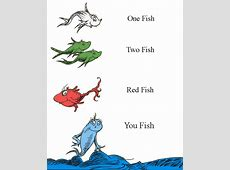 red fish blue fish printables