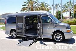 Custom Disability Vans For Sale At Classic