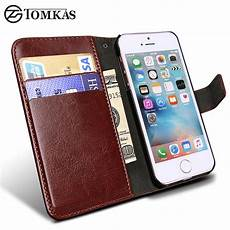 wallet leather for apple iphone 5s 5 se luxury flip