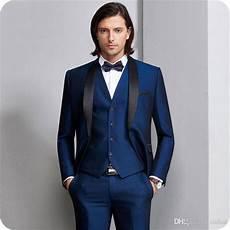 Acheter Bleu Marine Hommes Costumes Pour Costume De