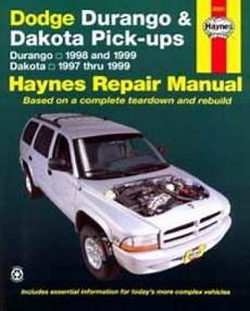 dodge durango dakota haynes repair manual 1997 1999 hay30021 dodge 1994 2001 1500 1994 2002 2500 3500 pickup truck haynes repair manual