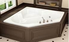 baignoire en coin avec oceania