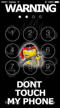 Attitude Warning Lock Screen Wallpaper