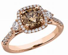 brown diamond wedding rings what s the best engagement ring metal in comparison