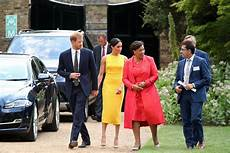 Meghan And Prince Harry Held At Youth Leadership Time