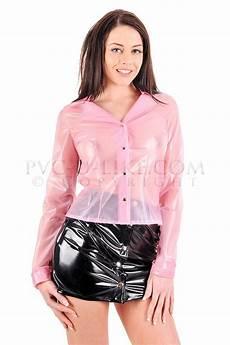 plastic clothes vinyl to09 sleeve blouse pvc u like plastic and vinyl