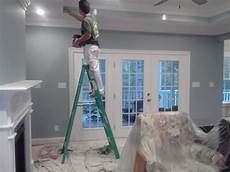 seaside interiors french country living room update languid blue by sherwin williams home