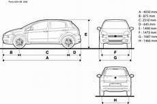 dimension fiat punto the blueprints blueprints gt cars gt fiat gt fiat