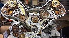 audi s4 4 2l engine new timing chains guides youtube