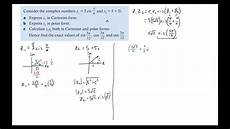 exles of multiplying and dividing complex vectors in polar form youtube