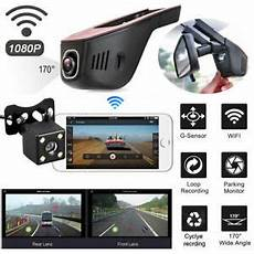 Wifi Car Dvr Front And Rear Dash
