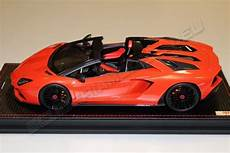 mr collection lamborghini lamborghini aventador s roadster arancio argos orange argos