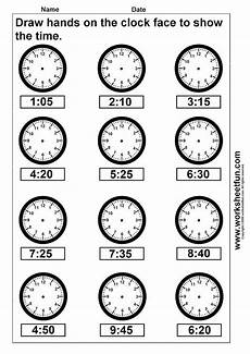 clock telling time worksheet printable worksheetfun free printable worksheets kindergarten