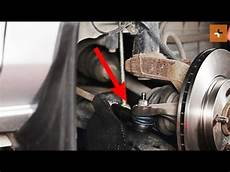 how to change a track rod end mazda 2 dy tutorial