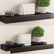 10 amazing floating shelves with drawers that make your