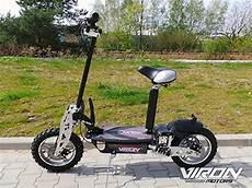 e scooter roller viron v 7 1000 watt 36v elektroroller