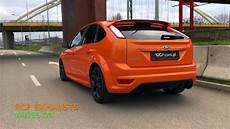 Ford Focus Mk2 St - ford focus st 2 5 mk2 rcp turbo back exhaust